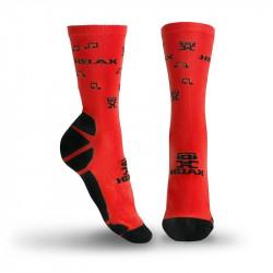 Helax ponožky - Červená