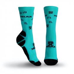 Helax ponožky - Tyrkysová