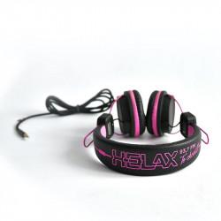 HELAX sluchátka - fialová,...