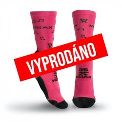 Helax ponožky - Růžová