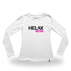 HELAX dámské tričko bílé -...